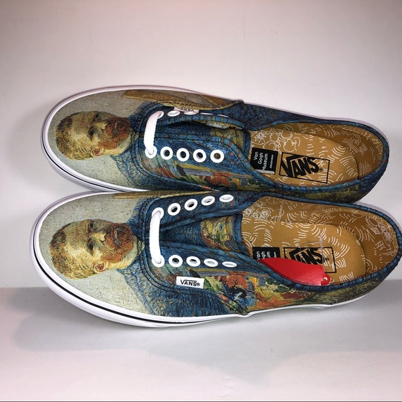 49012863ad9 Vans Authentic Vincent van Gogh Self Portrait Shoe